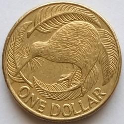 Монета > 1доллар, 1999-2019 - Новая Зеландия  - reverse