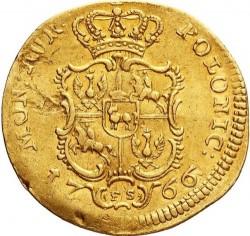 Münze > 1Dukaten, 1766 - Polen  (ohne Portrait) - reverse