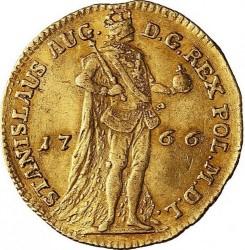 Coin > 1dukat, 1766-1771 - Poland  - obverse