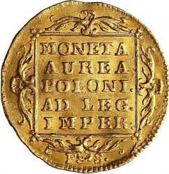 Coin > 1dukat, 1766-1771 - Poland  - reverse