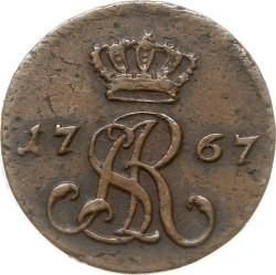 מטבע > ½גרוש, 1766-1792 - פולין  - obverse