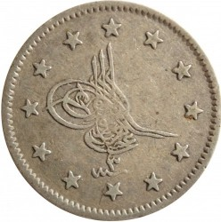 Moneta > 2kurusza, 1861 - Imperium Osmańskie  - obverse