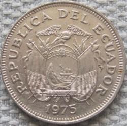 Pièce > 1sucre, 1974-1977 - Équateur  - obverse