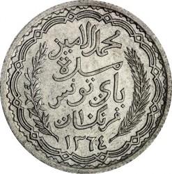 Moneda > 10francos, 1943-1944 - Túnez  - obverse