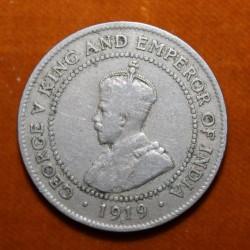 Monedă > 1penny, 1914-1928 - Jamaica  - obverse
