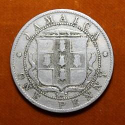 Monedă > 1penny, 1914-1928 - Jamaica  - reverse