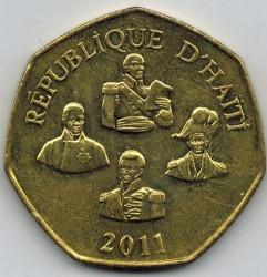 Moneta > 5gourde, 1995-2013 - Haiti  - reverse