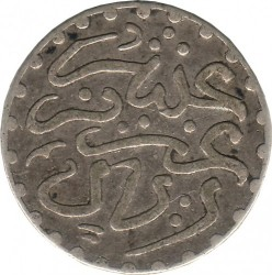 Монета > 1/10риала, 1902-1903 - Марокко  - obverse