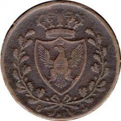 Moneta > 3centesimi, 1826 - Sardegna  - obverse