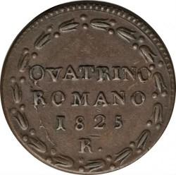 Монета > 1кваттріно, 1824-1825 - Папська область  - reverse