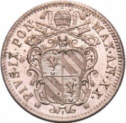 Moneta > 10baiocchi, 1865 - Państwo Kościelne  - obverse