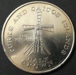 Moneda > ½corona, 1981 - Islas Turcas y Caicos  - obverse