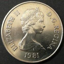 Moneda > ½corona, 1981 - Islas Turcas y Caicos  - reverse