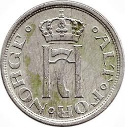 Moneda > 25ore, 1921-1923 - Noruega  - obverse