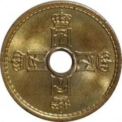 Moneta > 25erės, 1942 - Norvegija  - obverse
