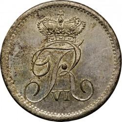 Кованица > 4ригсбанкскилинга, 1836 - Данска  - obverse