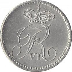 Moneta > 3rigsbankskilingai, 1836 - Danija  - obverse