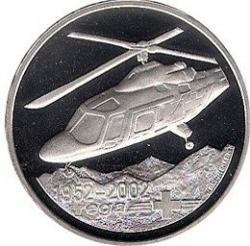 Münze > 20Franken, 2002 - Schweiz  (REGA) - obverse