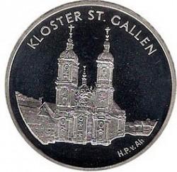 Moneta > 20franków, 2002 - Szwajcaria  (Opactwo Sankt Gallen) - obverse