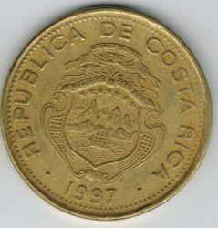 Moneta > 50kolonų, 1997 - Kosta Rika  - reverse