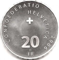 Moneta > 20franków, 2006 - Szwajcaria  (Pałac Federalny ) - obverse