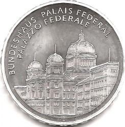 Moneta > 20franków, 2006 - Szwajcaria  (Pałac Federalny ) - reverse