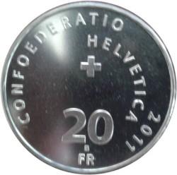 Coin > 20francs, 2011 - Switzerland  (Pilatus Railway) - obverse