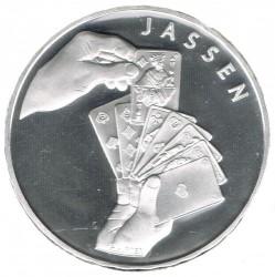 Moneta > 20franków, 2014 - Szwajcaria  (Gra karciana Jass) - reverse