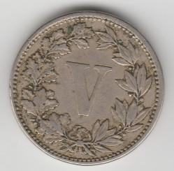 Νόμισμα > 5Σεντάβος, 1882-1883 - Μεξικό  - reverse