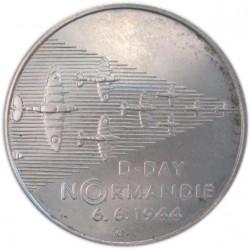 Moneta > 200corone, 1994 - Repubblica Ceca  (50° anniversario - Sbarco in Normandia) - reverse