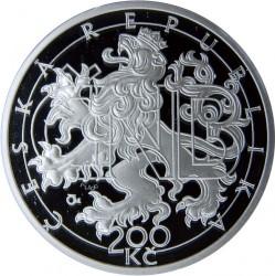 Moneta > 200corone, 2013 - Repubblica Ceca  (20th Anniversary - Czech Currency) - obverse