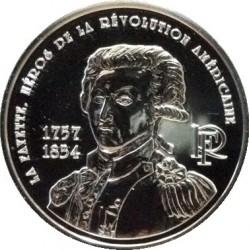 Moneda > ¼euro, 2007 - Francia  (250 aniversario - Nacimiento de Gilbert du Motier de La Fayette) - obverse
