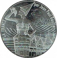 Moneda > 10euros, 2017 - Francia  (Borgoña) - reverse