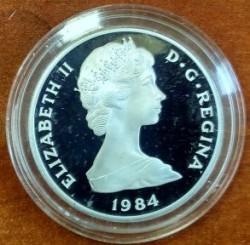 Moneta > 10corone, 1984 - Turks e Caicos (Isole)  (XXIII Giochi olimpici estivi, Los Angeles 1984) - obverse