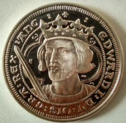 Coin > 10 dollars, 2007 - British Virgin Islands  (Kings and Queens of England - Edward I of England) - obverse