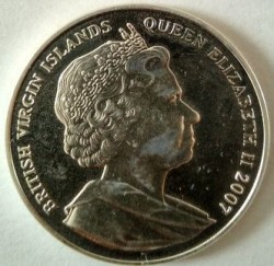 Coin > 10 dollars, 2007 - British Virgin Islands  (Kings and Queens of England - Edward I of England) - reverse