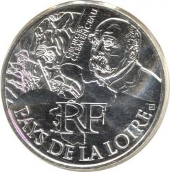 Moneda > 10euros, 2012 - Francia  (Regiones francesas - País de la Loire) - obverse