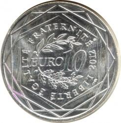Moneda > 10euros, 2012 - Francia  (Regiones francesas - País de la Loire) - reverse