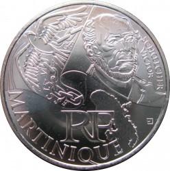 Moneda > 10euros, 2012 - Francia  (Regiones franceses - Martinica) - obverse
