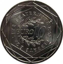 Moneda > 10euros, 2012 - Francia  (Regiones francesas - Limousin) - reverse