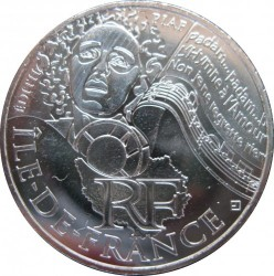 Moneda > 10euros, 2012 - Francia  (Regiones francesas - Île-de-France) - obverse
