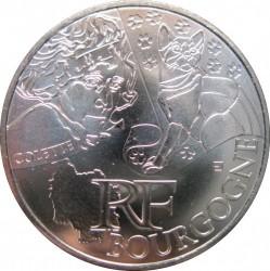 Moneda > 10euros, 2012 - Francia  (Regiones francesas - Borgoña) - obverse