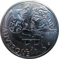 Moneda > 10euros, 2012 - Francia  (Regiones francesas - Auvergne) - obverse