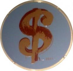 Moneda > 10euros, 2011 - Francia  (25 aniversario - Muerte de Andy Warhol) - reverse