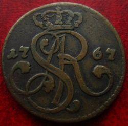 Münze > 1Grosz, 1765-1795 - Polen  - obverse