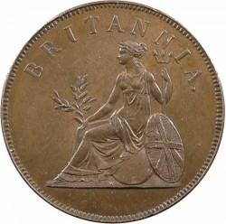Moneda > 1óbolo, 1819 - Islas Jónicas  - reverse