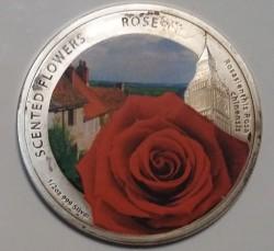 Moneta > 1dollaro, 2013 - Niue  (Fiori profumati - Rosa) - reverse