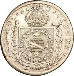 Moneda > 160réis, 1824-1826 - Brasil  - reverse