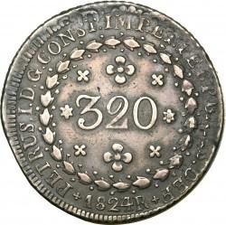 Moneda > 320réis, 1825-1830 - Brasil  - obverse