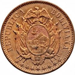 Münze > 2Centavos, 1883 - Bolivien  - obverse